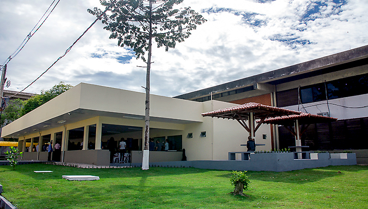 UFPA inaugura nova área de alimentação no Campus Básico