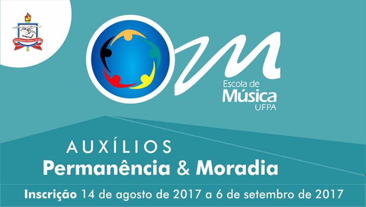 Escola de Música da UFPA abre inscrições para Auxílios Permanência e Moradia