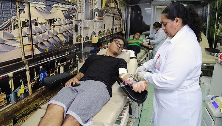 Unidade Móvel do Hemopa fará coleta de sangue na UFPA nos dias 22 e 23 de maio