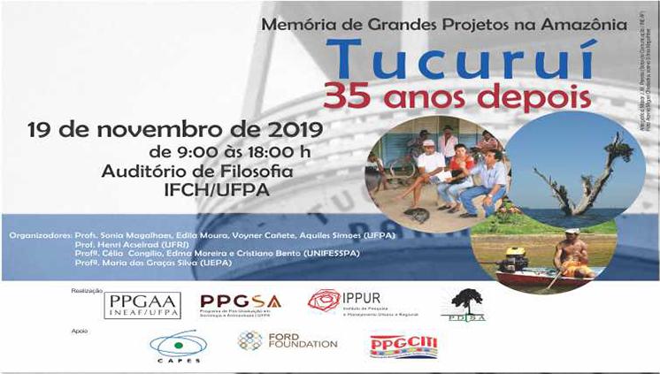 Evento apresenta pesquisas sobre as memórias de grandes projetos na Amazônia