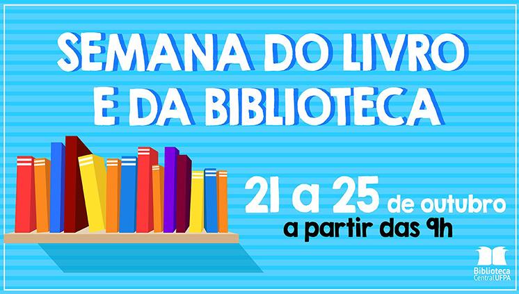 Biblioteca Central inicia Semana do Livro e da Biblioteca nesta segunda-feira, 21