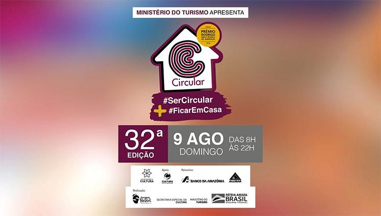 Projeto Circular Campina-Cidade Velha realiza edição virtual neste domingo, 09