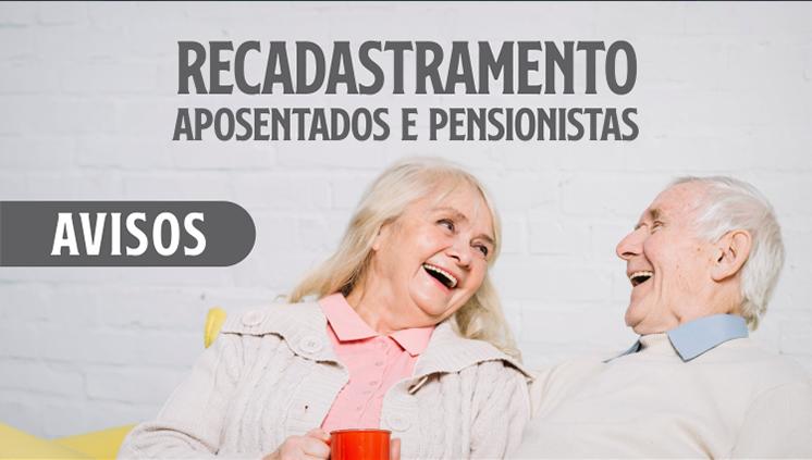 Prova de Vida de servidores aposentados, pensionistas e anistiados é suspensa até 31 de outubro