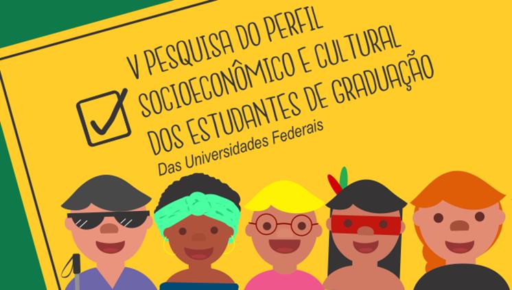 Andifes realiza nova pesquisa sobre o perfil dos estudantes das Universidades Federais