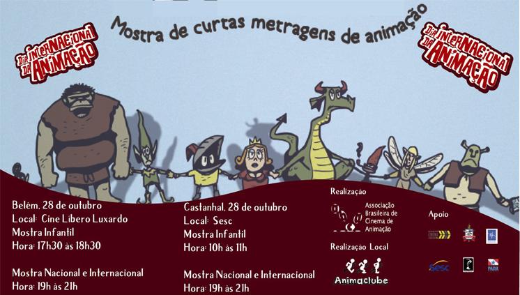 Projeto de extensão da UFPA organiza programação do Dia Internacional da Animação
