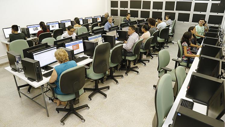 Instituto de Ciências da Saúde (ICS) inaugura o Infocentro na Faculdade de Enfermagem